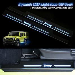 Image of a Jeep Wrangler Jimny 2019+ Sillplate with Led light