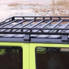 Image of a Jeep Wrangler Suzuki 2018 GJ Jimny Roof Rack
