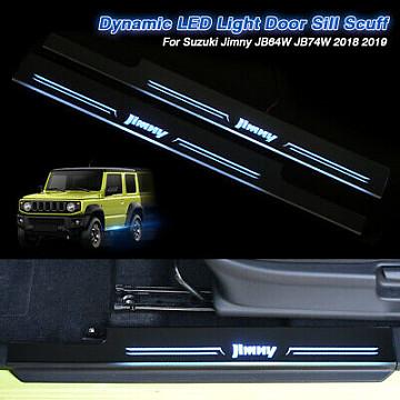 Image of a Suzuki Jimny Accessories Jimny 2019+ Sillplate with Led light
