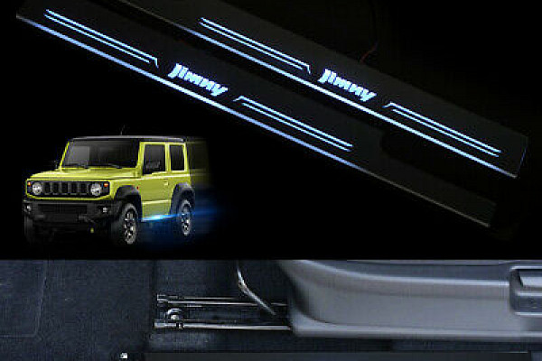 Picture of a Jimny 2019+ Sillplate with Led light