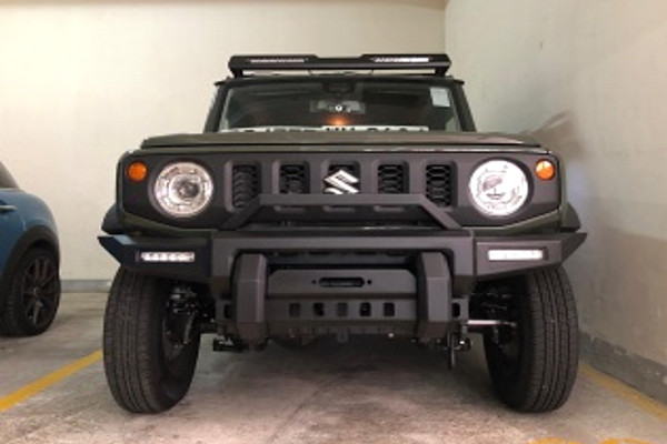 Picture of a Suzuki 2018 GJ Jimny Front Bull bar Ver 2